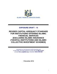 revised capital adequacy standard for institutions offering ... - IFSB