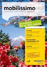 Bis zu 50% Rabatt - PostBus