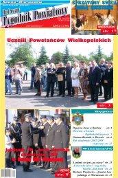 Uczcili Powstańców Wielkopolskich - Tygodnik powiatowy