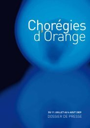 DOSSIER DE PRESSE - Radio France