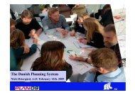 The Danish Planning System