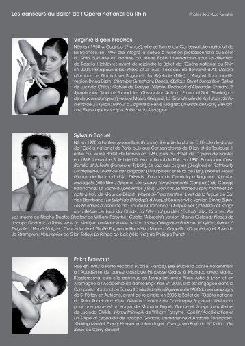 Trombinoscope Bios danseurs 2010-2011.indd - Opéra national du ...