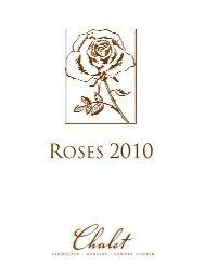 ROSES 2010 - Chalet Nursery