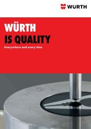 Everywhere and every time - Würth