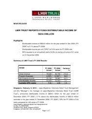 Press Release (68 KB) - Lippo Malls Indonesia Retail Trust ...