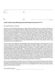 Betrifft: Änderung des Waffengesetzes (Bundestags-Drucksache 16 ...