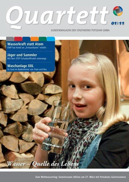 Quartett 1/2011 zum Download - Stadtwerke Potsdam