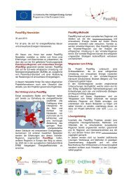 1. PassREg Newsletter (deutsch) - IG Passivhaus Tirol