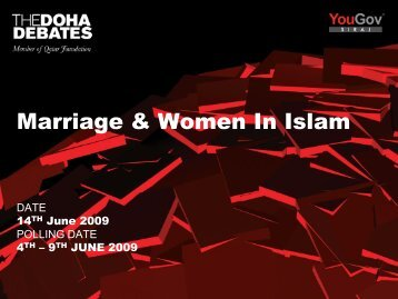 Marriage & Women In Islam - [(•)] Square Eye - Support
