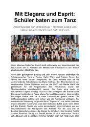 02.02.2013: Umweltprojekt Wasser der offenen ... - Magix