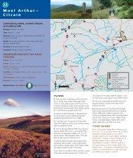 M o e l A r t h u r – Cilcain 22 - Denbighshire Countryside Service