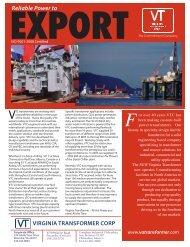 Export - Virginia Transformer Corp