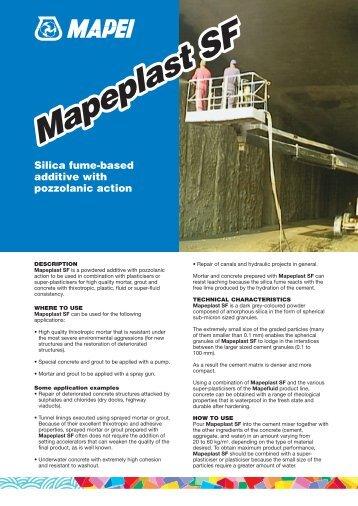 Mapeplast SF - Mapei