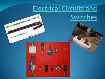 Circuits and Switches - Faculty Web Pages