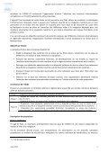 I. Présentation de la ligne de travail II. Termes de Référence ... - cetmo - Page 3