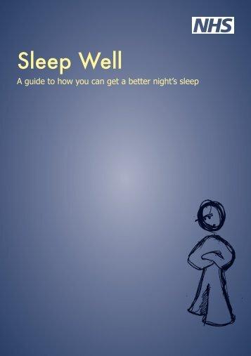Sleep Well