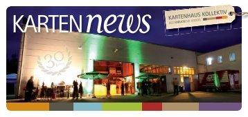 Kartenhaus Mailing News d