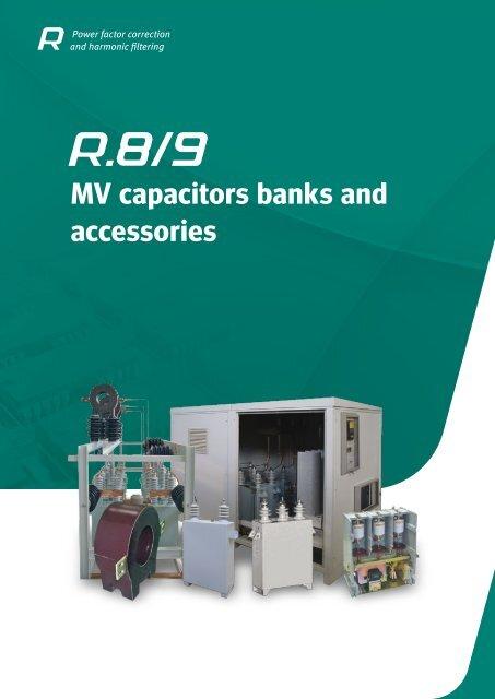 Mv Capacitors Banks And Accessories Circutor