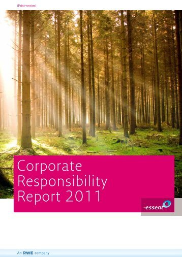 Corporate Responsibility Report 2011 - RWE.com