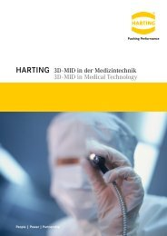 3D-MID in der Medizintechnik - HARTING Technologiegruppe