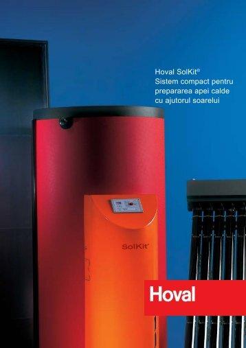Hoval SolKit® Sistem compact pentru prepararea apei calde cu ...