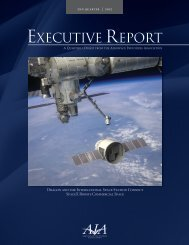 EXECUTIVE REPORT - Aerospace Industries Association