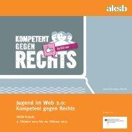 Jugend im Web 2.0: Kompetent gegen Rechts - AKSB