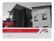 to download the Company Presentation - Ansys