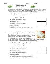 HW_Genetics Problem Set 2 - nnhsbergbio