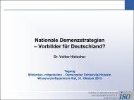 Dr. Volker Hielscher, Institut für Sozialforschung und Sozialwirtschaft
