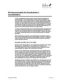 Wertkontenmodelle für (Gesellschafter-) Geschäftsführer - Gowin