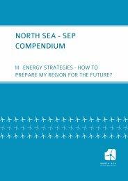 Final Compendium - Energy Strategies - North Sea SEP