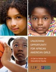 Unlocking Opportunity for African American Girls