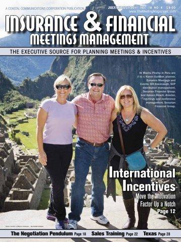 SEE US ON THE WEB - TheMeetingMagazines.com