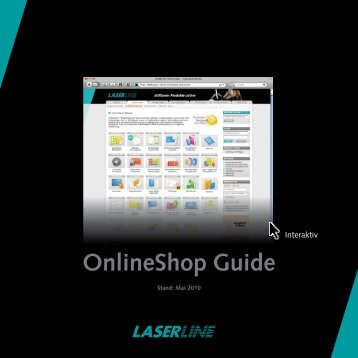 Onlineshop Guide