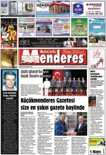 01 Mayıs Tarihli Küçükmenderes Gazetesi