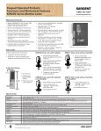 SARGENT® Keypad Operated Products catalog - Sargent Locks - Page 6