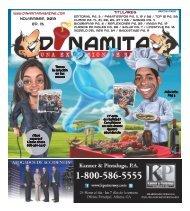 Noviembre, 2012 Ed. 13 Titulares - Dinamita Magazine