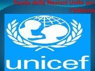 Fondo delle nazioni Unite per l'Infanzia - Benvenuti nel sito dei ...