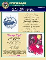 November 2012 Bagpiper - Piper's Landing Golf & Country Club