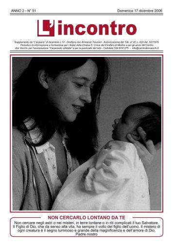 17 dicembre 2006 - Il Centro don Vecchi