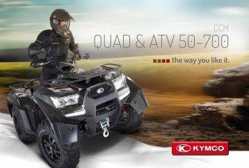 QUAD & ATV 50-700 - Kymco