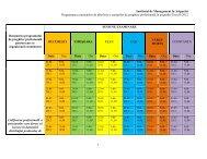 Institutul de Management în Asigurări Programarea examenelor de ...