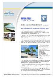 mauritius 2008 - Happy Divers Asselfingen