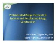 Pre-Fab Bridge Elements