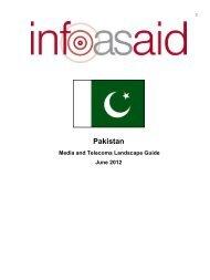 media landscape guide about Pakistan - Internews