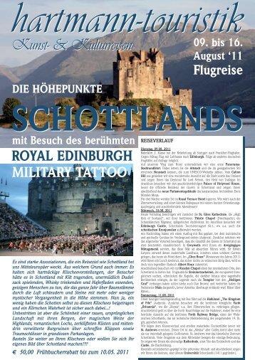 schottland 2011 - hartmann-touristik