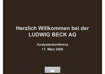 Kaufhaus der Sinne - Ludwig Beck