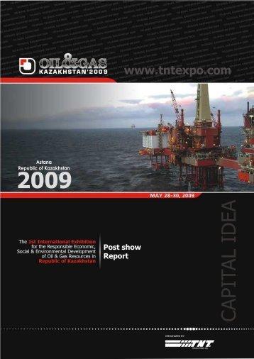 Post Show Report of Oil&Gas,Kazakhstan'2009 - TNT Productions, Inc.