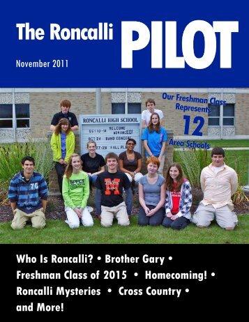 The Roncalli PILOT - Roncalli High School